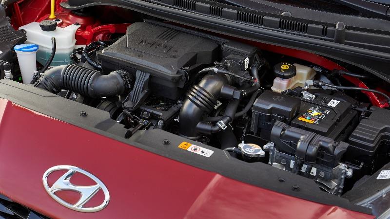 Prueba Hyundai i10 2020 motor