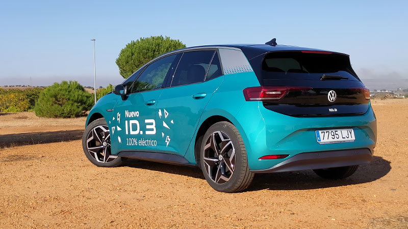 Prueba del Volkswagen ID.3 2021 204 CV