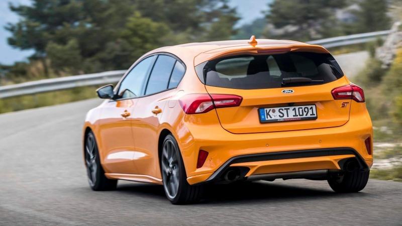 Rivales Volkswagen Golf GTI 2021: Ford Fiesta ST