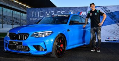 BMW M2 CS Fabio Quartararo