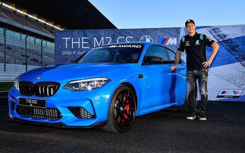 BMW M2 CS Fabio Quartararo