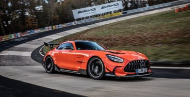 Mercedes-AMG GT Black Series récord Nürburgring