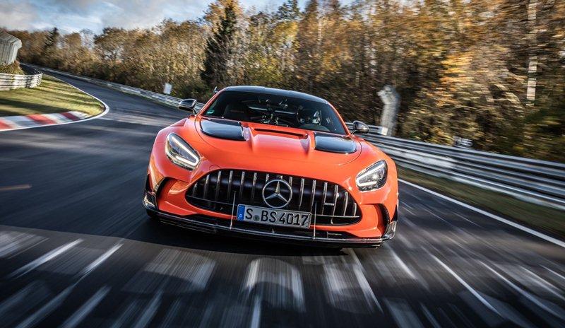 Mercedes-AMG GT Black Series récord Nürburgring