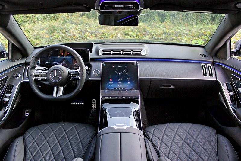 prueba del Mercedes Clase S 2021