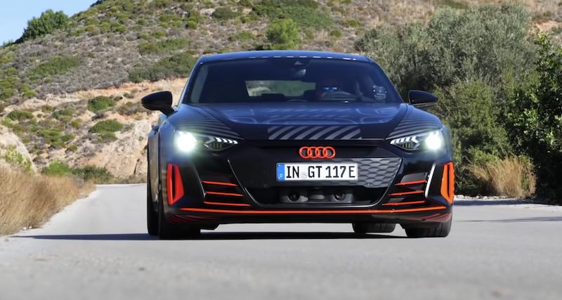 aceleración del Audi e-tron GT RS