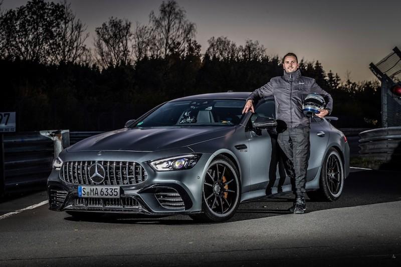 Mercedes-AMG GT 63S récord
