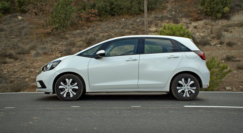 Prueba Honda Jazz 2021