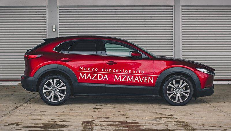 prueba del Mazda CX-30 Skyactiv-X 2021