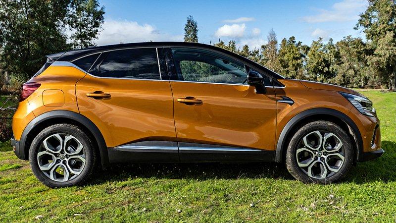 prueba del Renault Captur GLP 2021