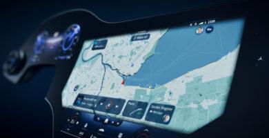 Hyperscreen Mercedes EQS