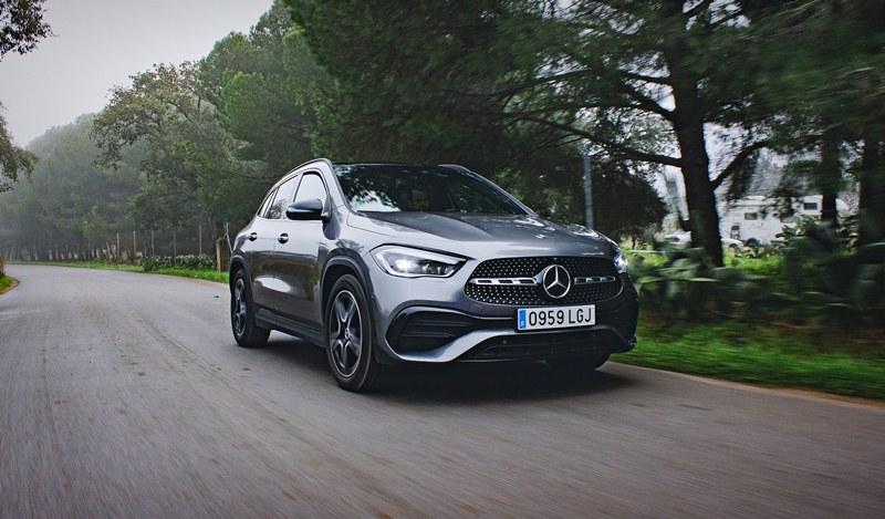 Consumo del Mercedes GLA 200d