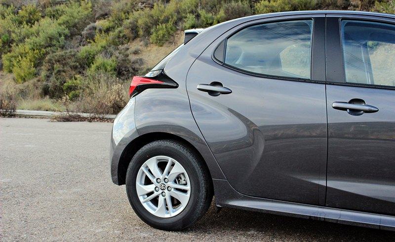 Prueba del Toyota Yaris híbrido 2021