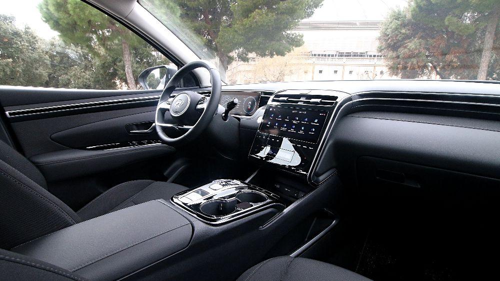 Prueba Hyundai Tucson Diesel interior