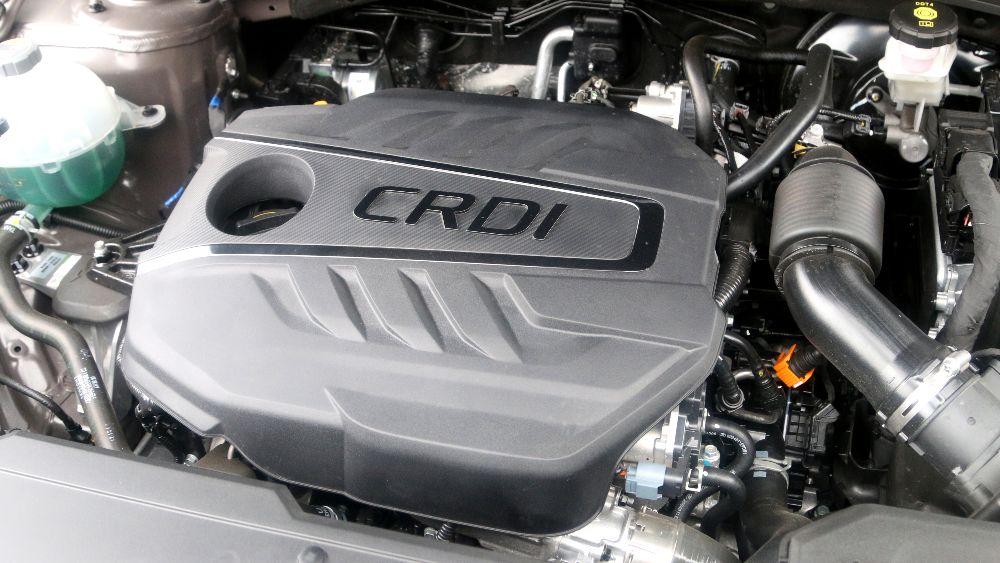 Prueba Hyundai Tucson Diesel motor