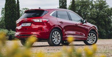 Prueba del Ford Kuga FHEV 2021