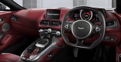 Aston Martin cambio manual
