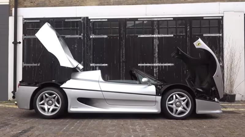 Ferrari F50 Londres