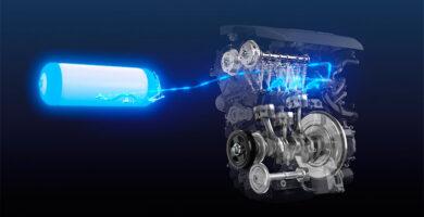 Motor de combustión de hidrógeno