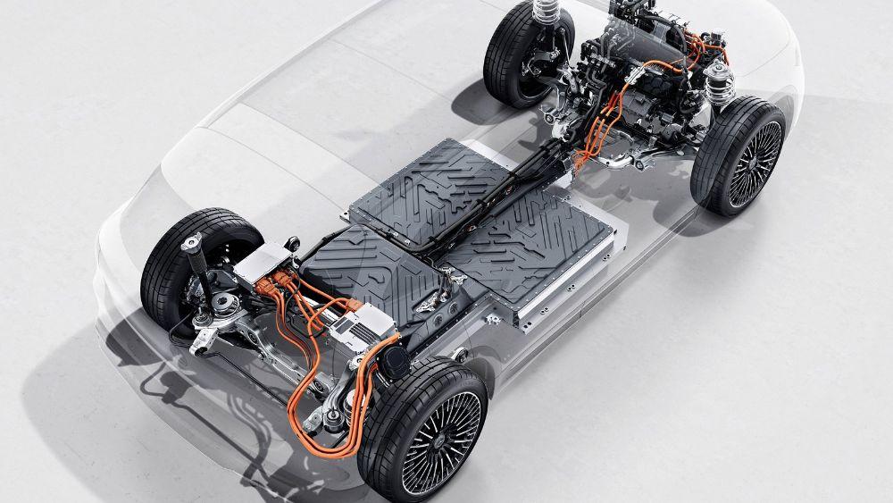 Prueba Mercedes EQA 2021 baterias