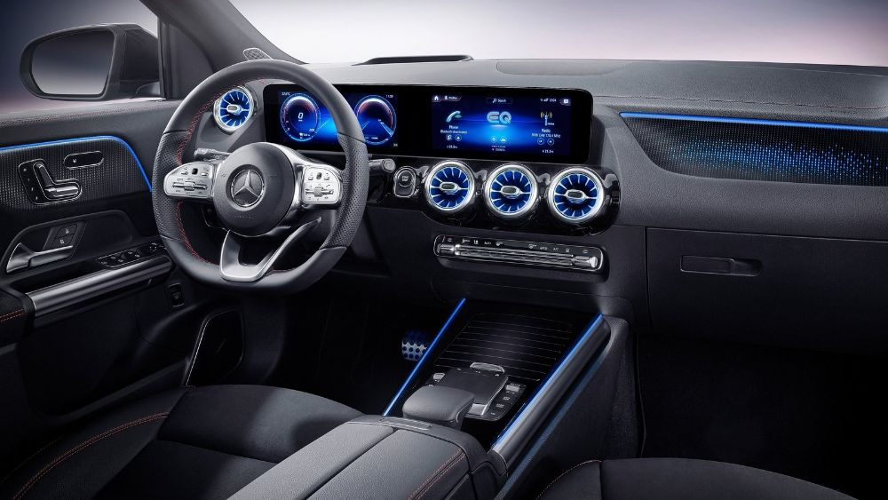 Prueba Mercedes EQA 2021 interior
