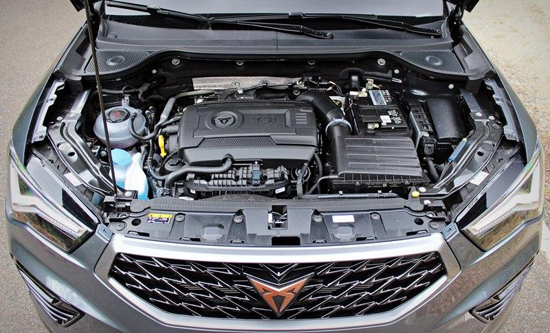 Cupra Ateca 2021 motor