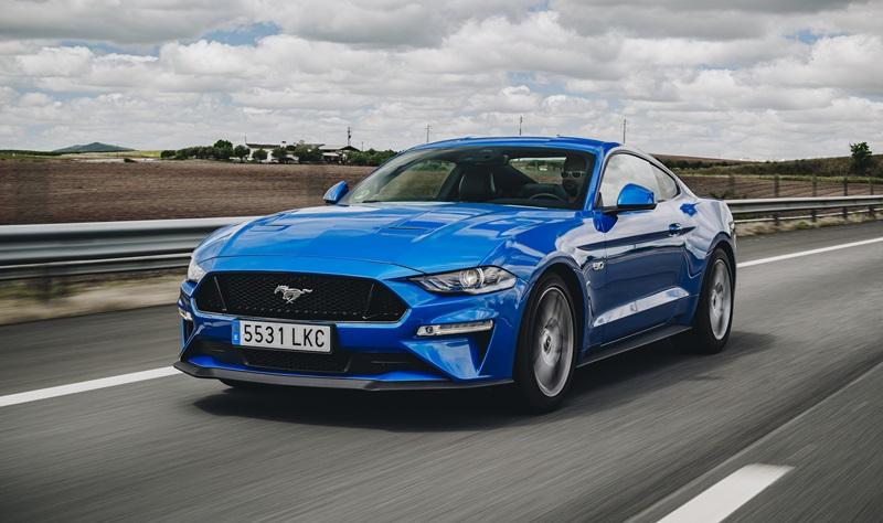 prueba del Ford Mustang 5.0 V8 Fastback
