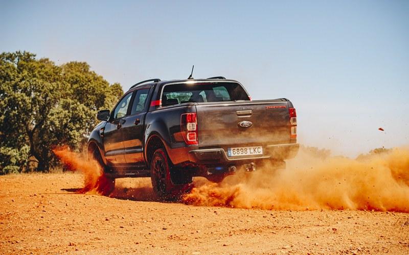 prueba del Ford Ranger Thunder