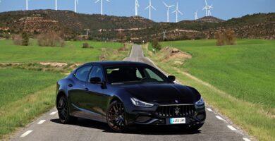 Prueba Maserati Ghibli Hybrid 2021