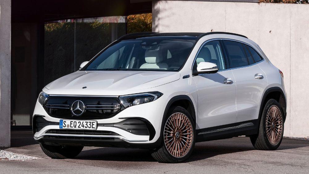 Prueba Mercedes EQA 2021