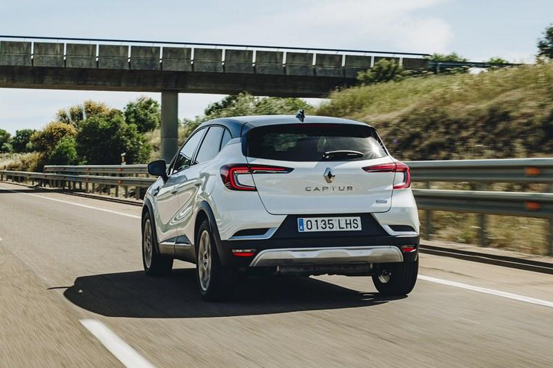 prueba del Renault Captur E-Tech 2021