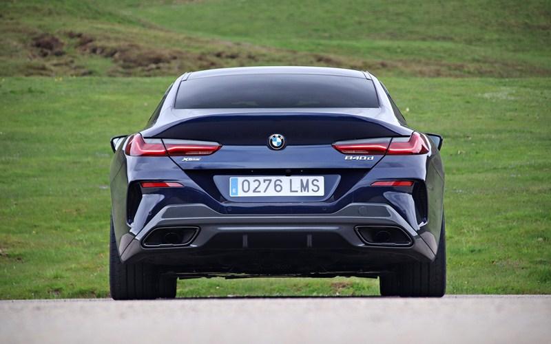 Prueba del BMW 840d Gran Coupé