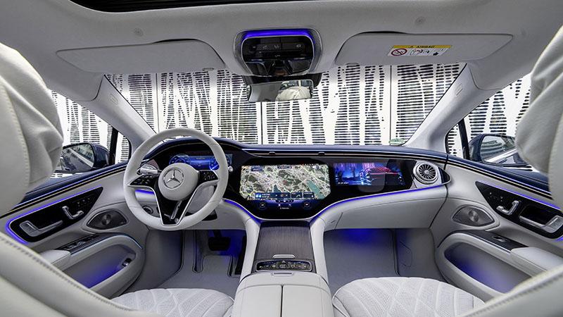 Mercedes pago uso eje trasero direccional